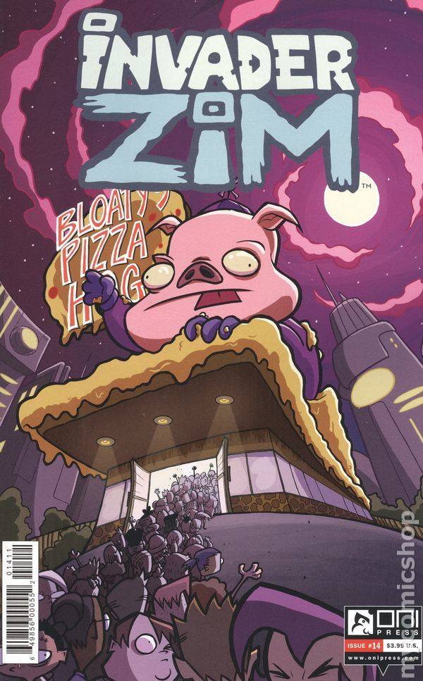 Invader Zim (2015 Oni Press) 14A