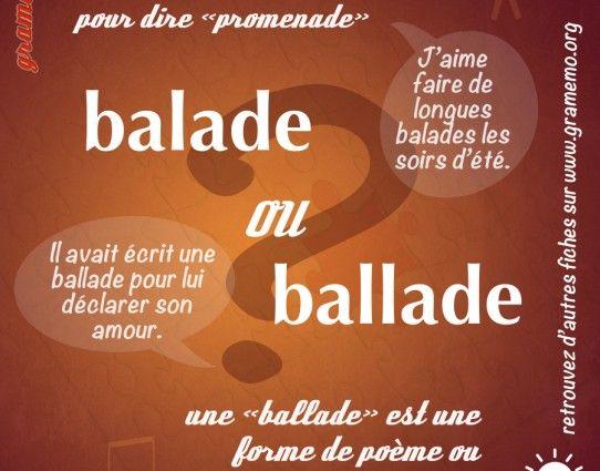 """Il  a même une Orthochanson sur les mots en """"bal' : """"Bal, petit bal"""" ( www.blog-orthographique.fr )"""