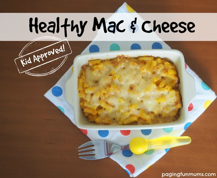 You won't believe how I made this super yummy and HEALTHY Mac & Cheese!