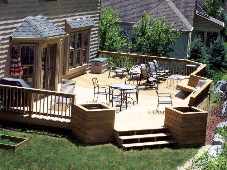 30+ Estrade en bois jardin ideas