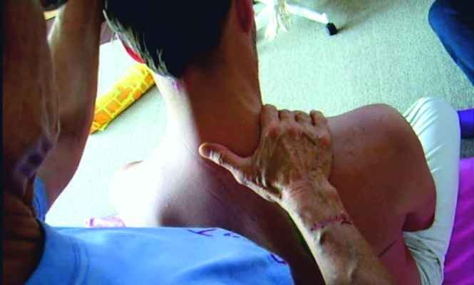 Triplice Focolare Il percorso che il meridiano di Triplice Focolare segue sul collo e sulla spalle. Triplice Focolare è il meridiano di un organo che ovviamente non esiste dal punto di vista fisico ed anatomico ma, secondo la Medicina Tradizionale Cinese, è un meridiano che rappresenta svariate funzioni endocrine e del sistema circolatorio e linfatico.. Si chiama così in quanto è diviso in tre parti: superiore, mediano e inferiore.
