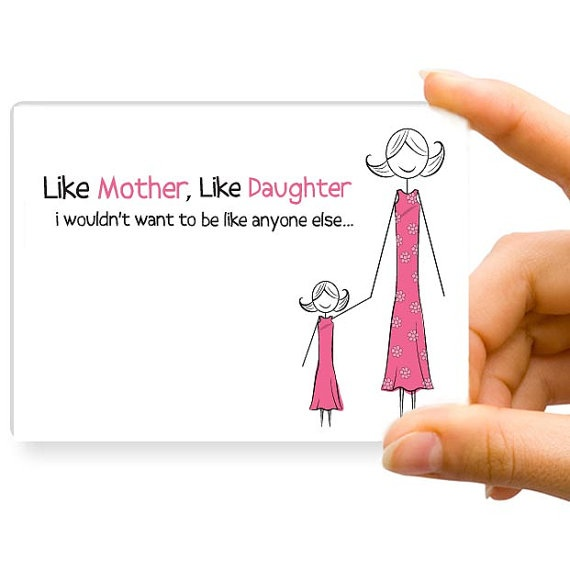 Funny mother daughter-6556