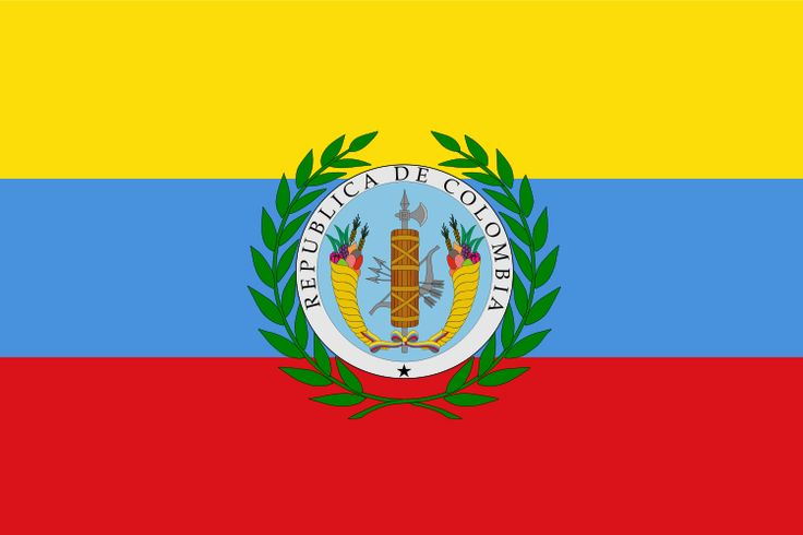 Flag of Gran Colombia which is what is was called and it included modern day Venezuela, Colombia, Ecuador, and Panama