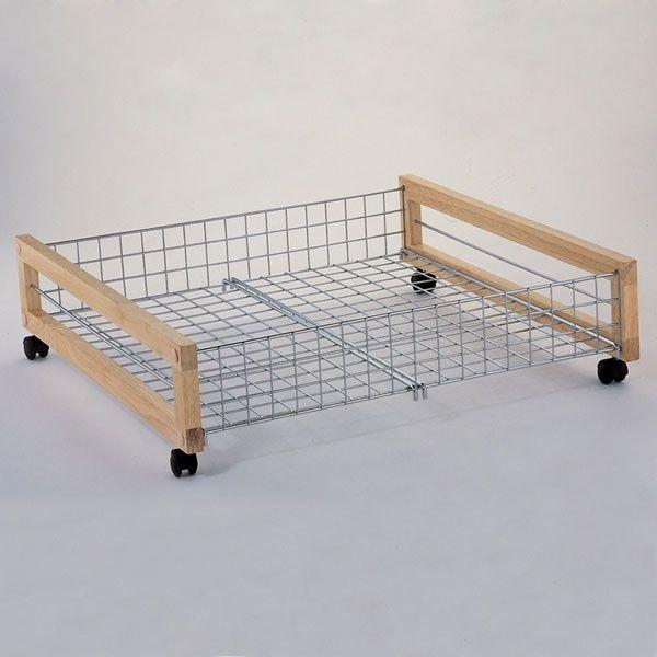 Metal Underbed Storage Rack Under Bed Shoe Storage Under Bed