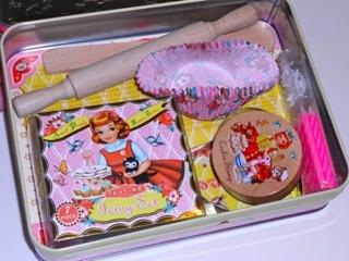 Cotton Candy cake bake set