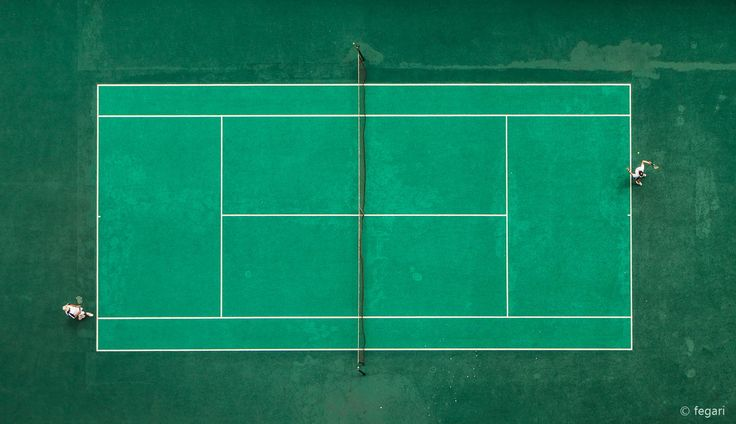 Game, Set, Match! - Taken from a 15 story high building