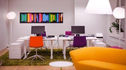 Väriä toimistoon! #toimisto #design