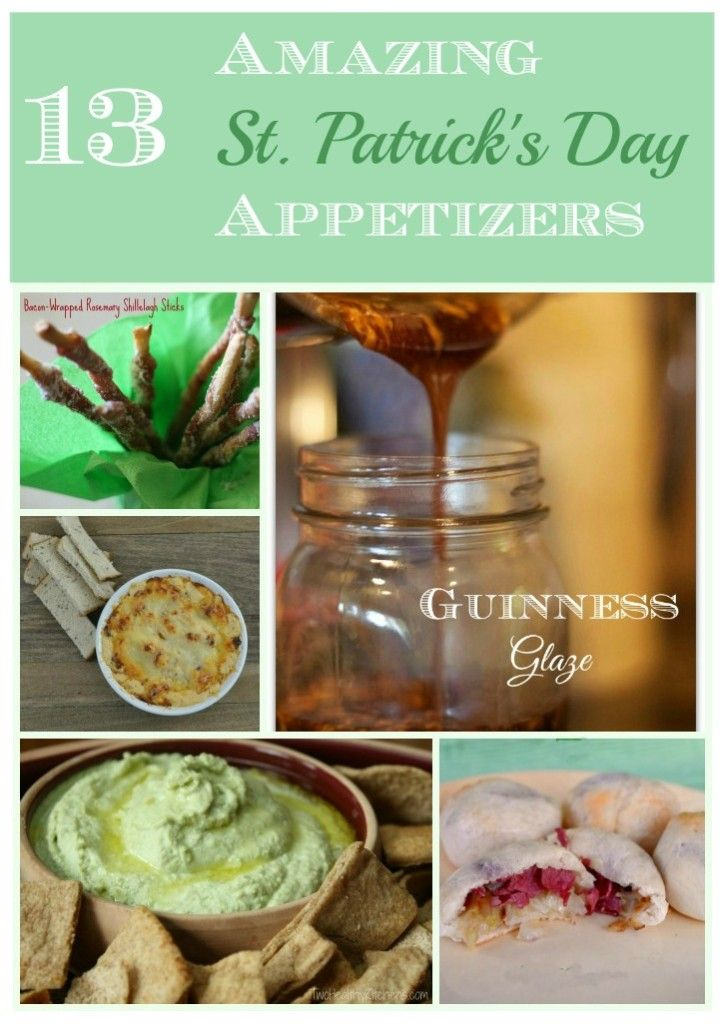 Trying to decide what kind of food to prepare for a St. Patrick's Day party? These appetizers are all easy and can be served all year long! Here are 13 easy recipes that will become your favorite party food!