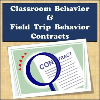 If you've got students that are having a difficult time following the behavioral expectations you've established in your classroom you may benefit from trying this classroom behavior contract especially if you are a new teacher still working on classroom management.This contract allows students to reflect with you as the teacher what your job is as the teacher and what their job is as the student.