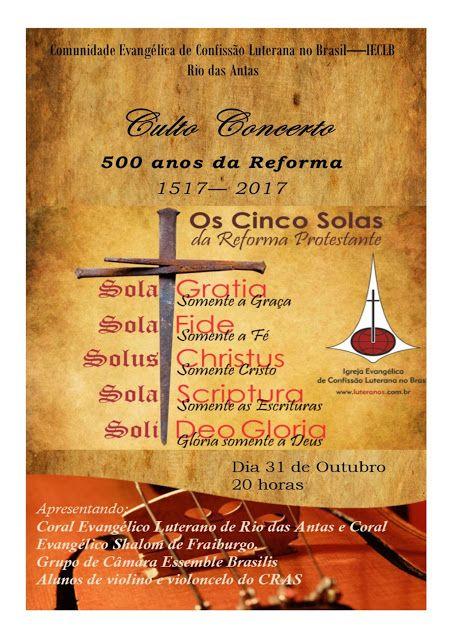 É a vida!!!!!!!: Convite para Culto Concerto em comemoração aos 500...