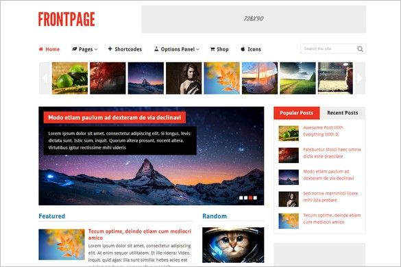 Frontpage is a perfect magazine and Woocommerce-ready WordPress Theme.