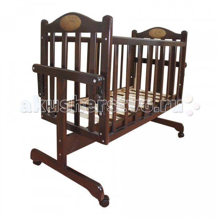 Колыбель Ивашка Мой Малыш  Колыбель Ивашка Мой Малыш для новорожденных представляет собой небольшую кроватку, спальное место которого составляет 90х45 см.  Особенности: Главная функция, которую выполняет кроватка-колыбель, — это укачивание малыша.