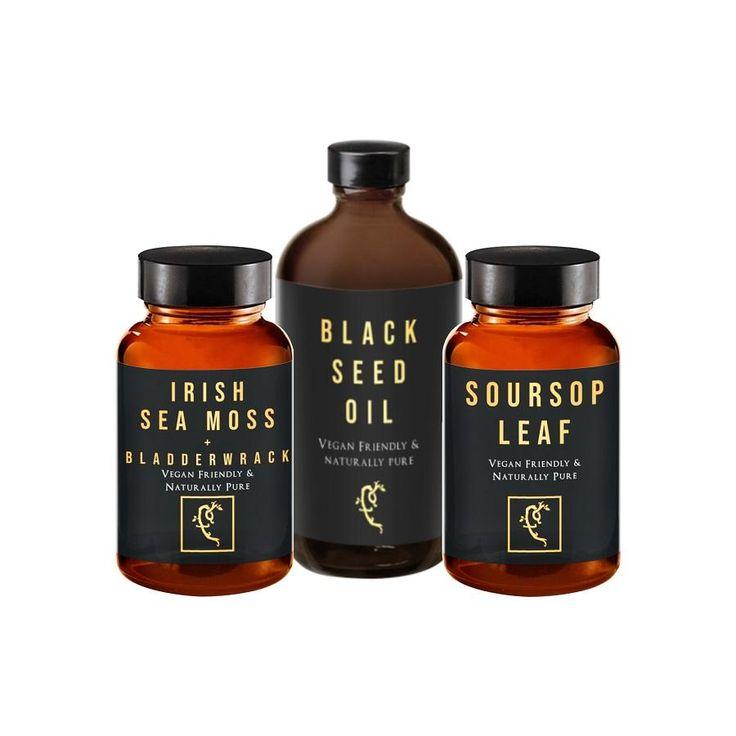 Ghost bundle blackseed sea moss soursop farmacy for