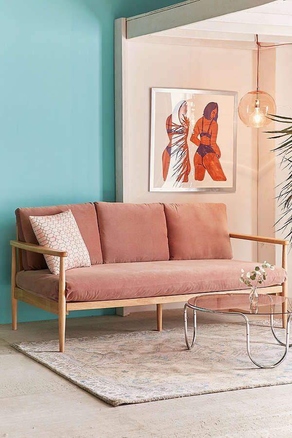 Minna Velvet Sofa