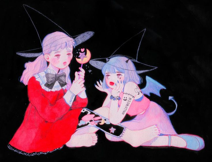 HAppy halloween  항상 혼자 노는 마녀와 할로윈마다 찾아와서 놀아주는 또래 악마!ㅋㅋㅋㅋ오글거린다...후루... 마녀는 악마에게 모자를 선물하고 악마는 직접 만든 마법봉을 선물하는...그런걸...그려보았습니다... 해피 할로윈!٩(๑❛ᴗ❛๑)۶ .  #소녀#스케치#연필#드로잉#수채화#습작#분홍#핑크#색연필#하늘#girl#doddle#sketch#pencil#draw#drawing#instadraw#art#illust#illustration#art#ilustracion#イラスト#blue#water#watercolor#fashion#colorpencil#fommy#halloween