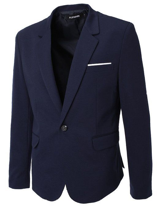 FLATSEVEN Mens Slim Fit Casual Premium Blazer Jacket: Amazon.co.uk: Clothing