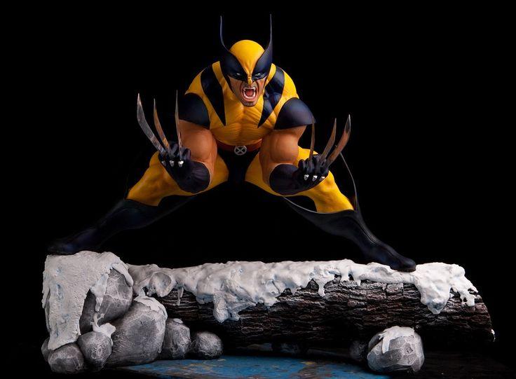 Wolverine Statue 1/4 scale Custom.