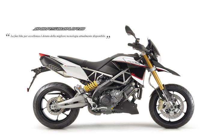 #Aprilia #Dorsoduro1200 ABS ATC white colour