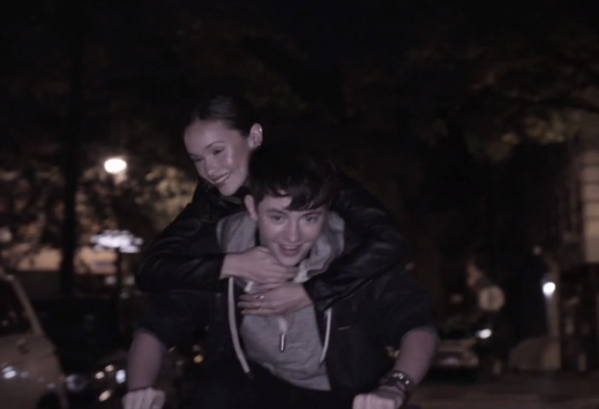 Greyson Chance in his Sunshine An d City Lights Music Video (: