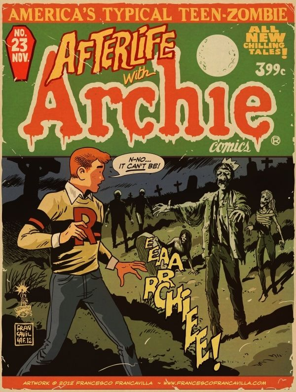 Best Shots Advance Reviews: AFTERLIFE WITH ARCHIE #2, TWILIGHT ZONE #1, Much More | Newsarama.com