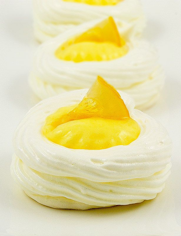Lemon meringue nests for Easter- saw these on the Martha Stewart show.. easy and quick to make and so cute!