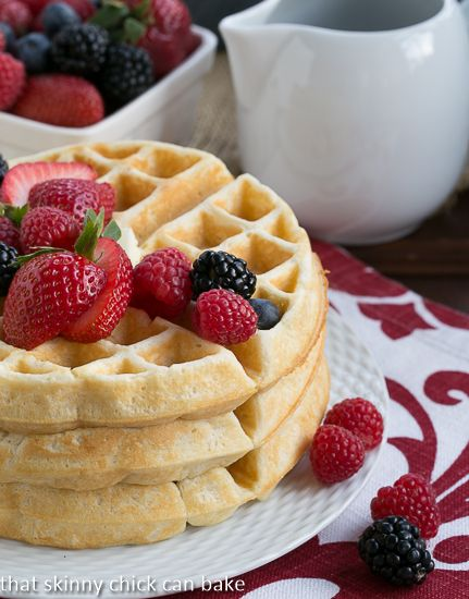 ... on Pinterest | Belgian waffles, Buttermilk pancakes and Waffles