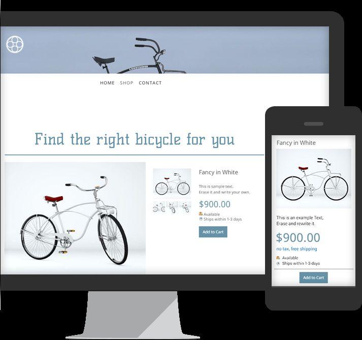 Jimdo er gratis som app. Du kan lave hjemmesider på iPad eller computer.