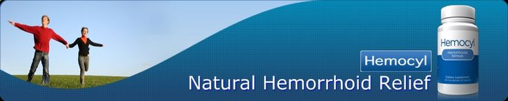 natural hemorrhoid relief.