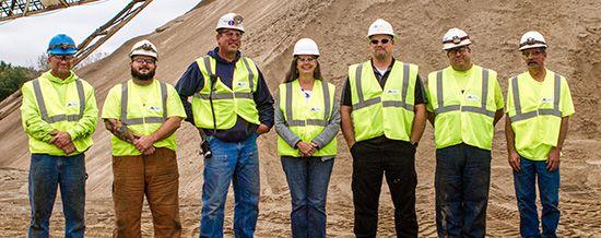 Martin Marietta sand plant receives Sentinels of Safety award #construction