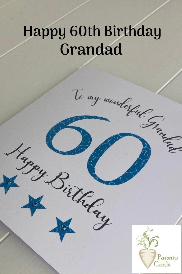 60th Birthday Card Dad Grandad Brother Husband Cousin Friend Etsy 60th Birthday Cards Dad Birthday Card Birthday Cards For Friends