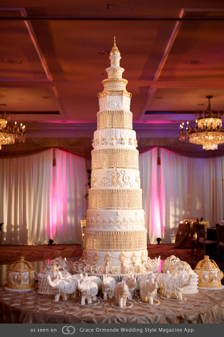 7 layer wedding cake 17 best images about gold wedding cakes on 10502