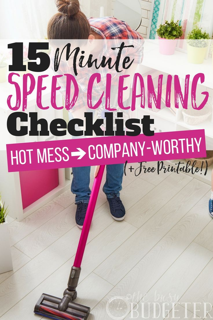 I HATE cleaning!! Seriously, it's the last thing I want to do!! But you know what? If I can tell myself it's only 15 minutes to clean my WHOLE house- it's a whole lot less of a chore and let me tell you-it actually only took 15 minutes!! The speed cleanin