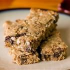 Playgroup Granola Bars: I have tried this and now it's a favorite for my four year old and husband.  I don't add raisins and I use flaxseed meal instead of wheat germ.  Lots of fiber.  Tastes like an oatmeal cookie!