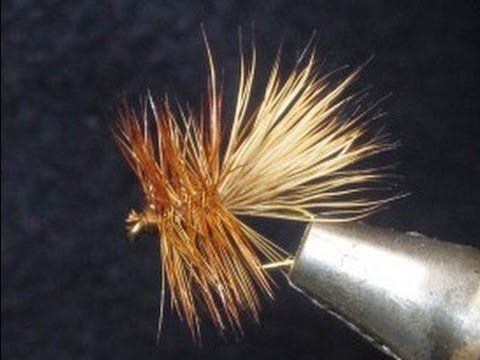http://mtbpt.blogspot.com/2012/10/how-to-tie-elk-hair-caddis.html This Fly Tying Video features an Elk Hair Caddis. Capt Matt quickly shows how to tie this u....
