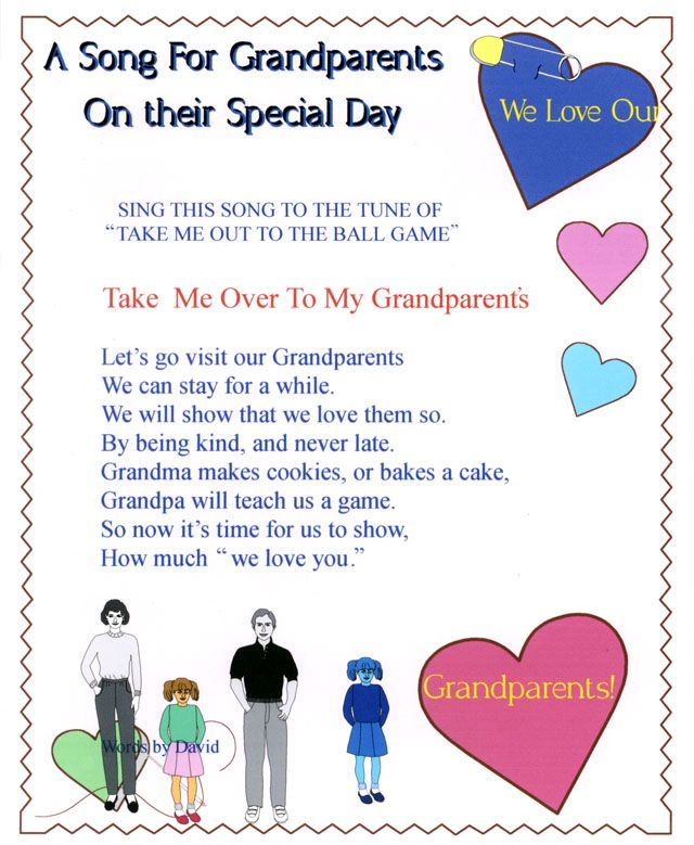 grandparent's day project - Google Search