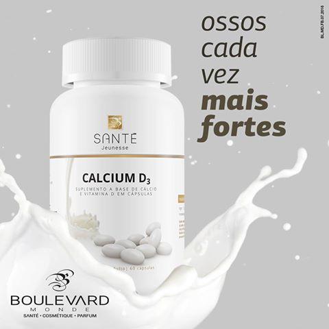 Este suplemento contém Cálcio, que é essencial para a transmissão nervosa, coagulação do sangue, contração muscular, atuando também na respiração celular, além de garantir uma boa formação e manutenção de ossos e dentes. Para que a absorção seja completa, adicionamos a Vitamina D3, que absorve o Cálcio durante a exposição solar e o mantém no sangue.  Contém 60 cápsulas  Adquira o produto ou converse comigo  (96)981420607 whatsapp, atendimento em todo o Brasil.