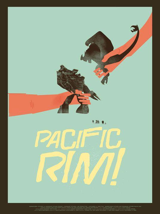 best alternative movie poster - Pacific Rim