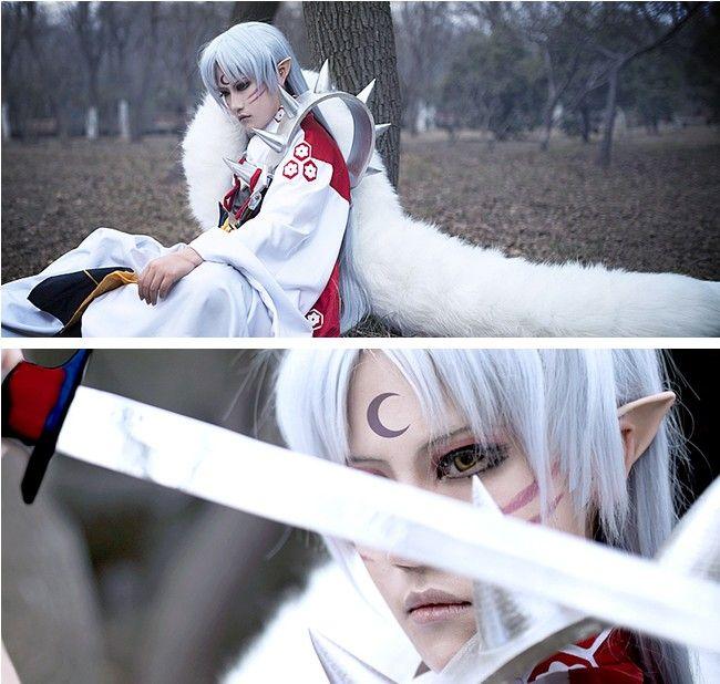 Inuyasha Sesshoumaru cospaly costumes is from http://www.eshopcos.com/inuyasha-sesshomaru-kimono-cosplay-costume