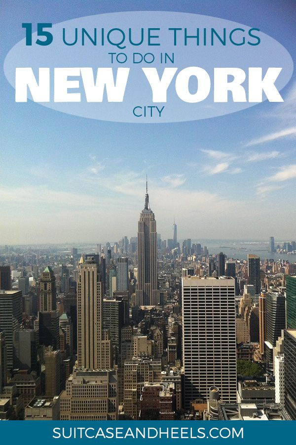 Unique New York: 15 Lesser Known Things To Do In NYC