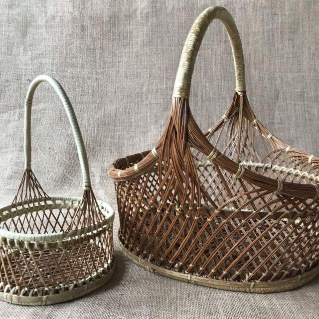 Vintage Baskets Pair Wicker Other Home Decor Gumtree Australia Moreland Area Coburg 1197889790 Vintage Baskets Wicker Coburg