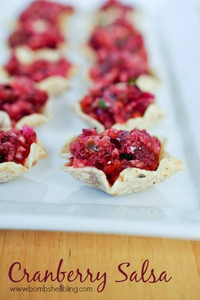 Cranberry Salsa - A zesty twist on holiday food!