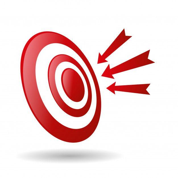 Cible De Tir A L Arc Avec Des Fleches Icone De Competition De Jeu De Sport Archer Tir A L Arc Jeux Sport Cible