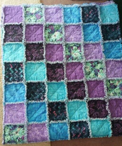 Rag Quilt Color Ideas : Rag quilt, Color combos and Quilt on Pinterest