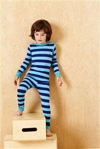 Blue Striped Pajamas   Cotton Jersey   Kids pajamas   By BedHead   Fivestripes.com