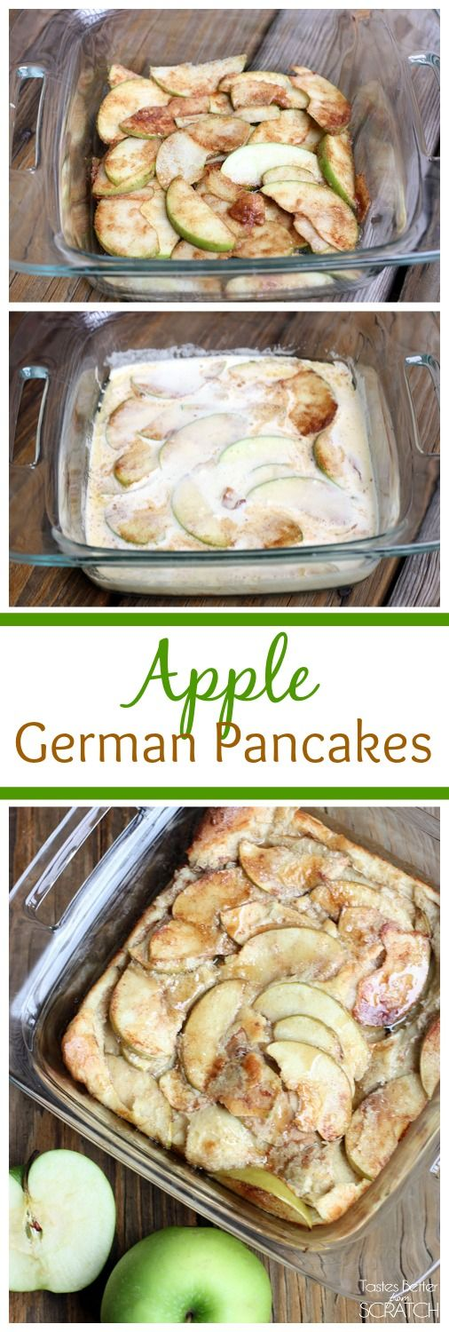 Apple German Pancakes on TastesBetterFromScratch.com