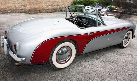 1951 Nash Healey Le Mans Roadster For Sale Rear
