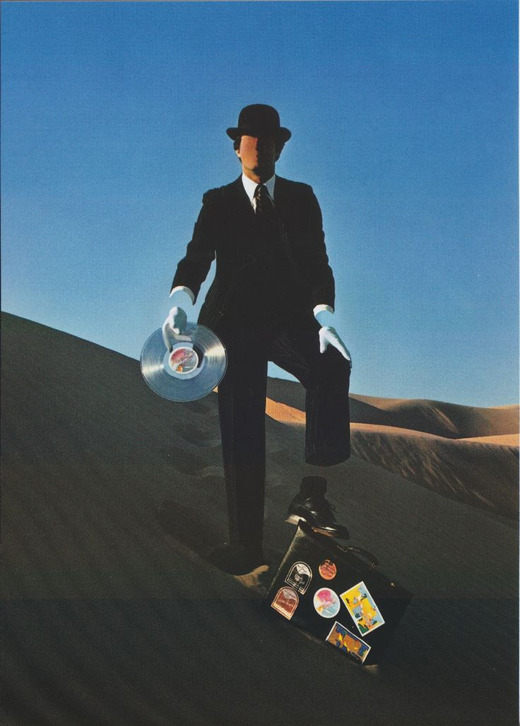 Pink Floyd Wish You Were Here The Earth Element Is The Sand An Invisible Man In A Magritte