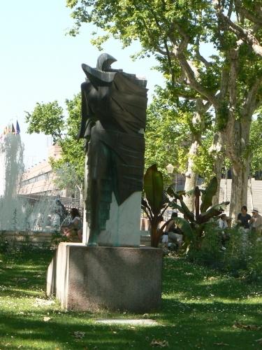Le Vent, esplanade Charles de Gaulle, Montpellier, France
