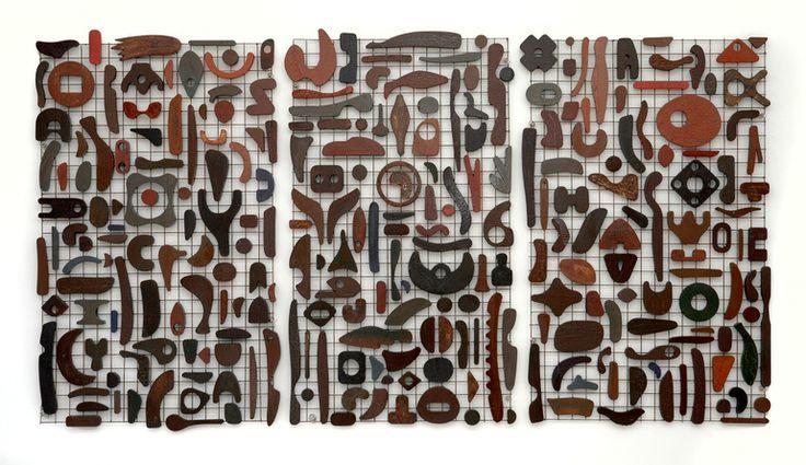 "Saatchi Art Artist: Paul Clowney; Wood Sculpture ""Triptych"" - what could I make…"