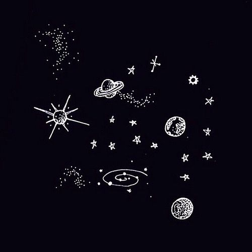 moon drawing tumblr black background - Google Search ...